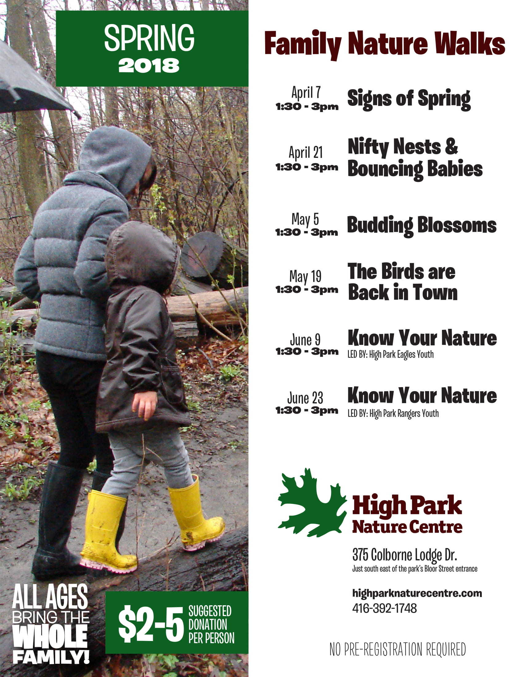 High Park Nature Centre Birthday Parties